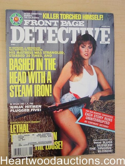 """Front Page Detective"" August 1992 Bad Girl Cover"