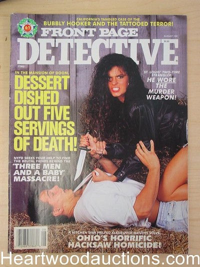 """Front Page Detective"" August 1991 Bad Girl Cover"