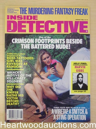 """Inside Detective"" August 1986"