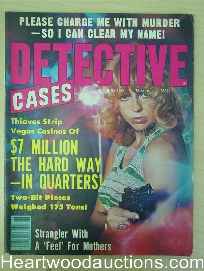 """Detective Cases"" June 1978 Bad Girl Cover"