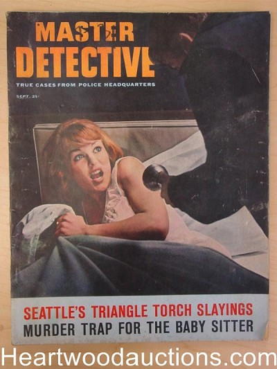 """Master Detective"" September 1962 Assault Cover"