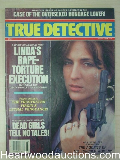 """True Detective"" March 1989 Bad Girl Cover"