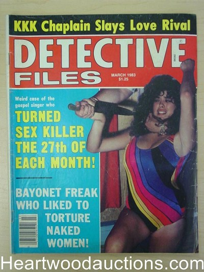 """Detective Files"" March 1983 Assault Cover"