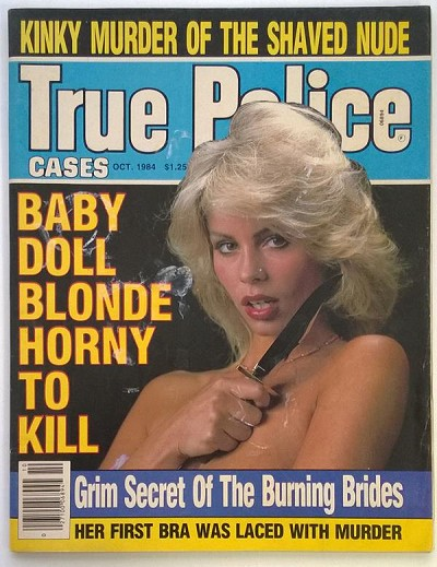 """True Police"" October 1984 Bad Girl Cover"