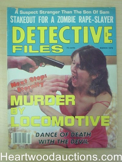 """Detective Files"" March 1979 Assault Cover"