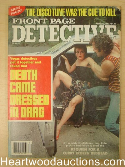 """Front Page Detective"" February 1982"