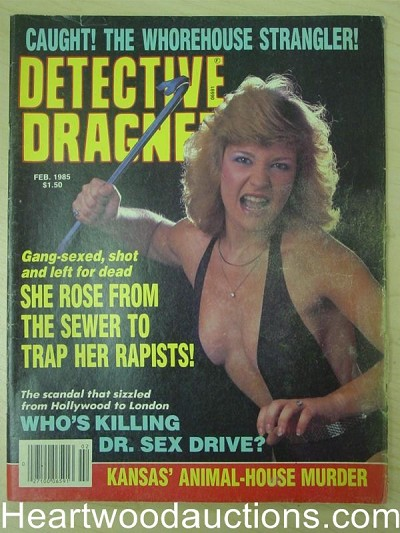 """Detective Dragnet"" February 1985 Bad Girl Cover"