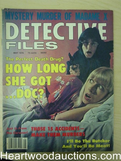 """Detective Files"" May 1978 Assault Cover"