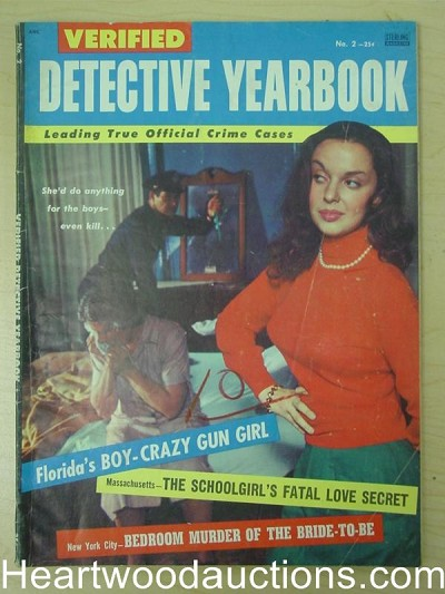 """Verified Detective Yearbook"" #2 Bad Girl Cover"