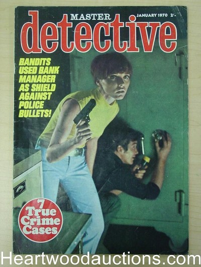 """Master Detective"" January 1970 Bad Girl Cover"