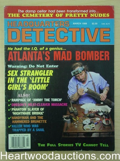 """Headquarters Detective"" March 1999"