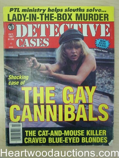 """Detective Cases"" October 1987 Bad Girl Cover"