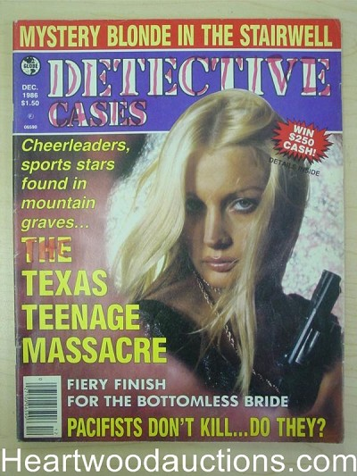 """Detective Cases"" December 1986 Bad Girl Cover"