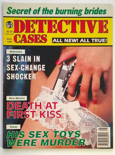 """Detective Cases"" August 1994 Bad Girl Cover - High Grade"