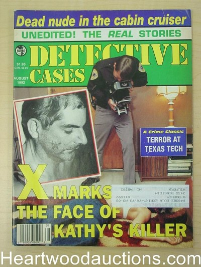 """Detective Cases"" August 1992"