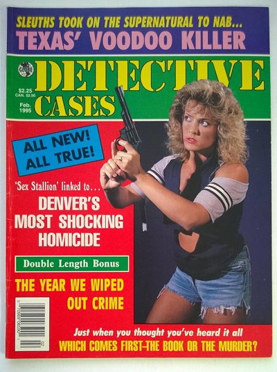 """Detective Cases"" February 1995 Bad Girl Cover"