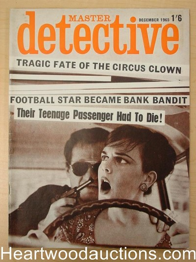 """Master Detective"" December 1965 Assault Cover"
