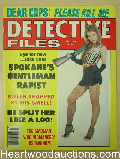"""Detective Files"" July 1988 Bad Girl Cover"