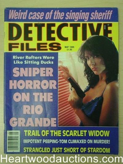 """Detective Files"" May 1989 Bad Girl Cover"