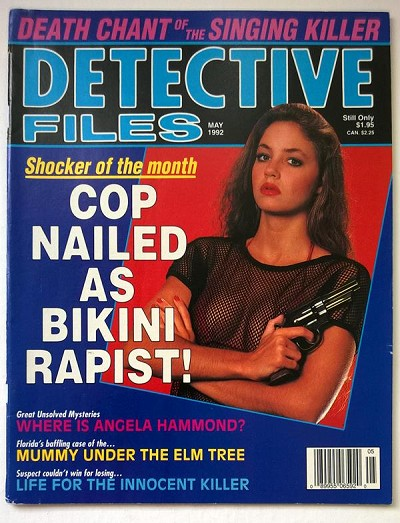 """Detective Files"" May 1992 Bad Girl Cover - High Grade"