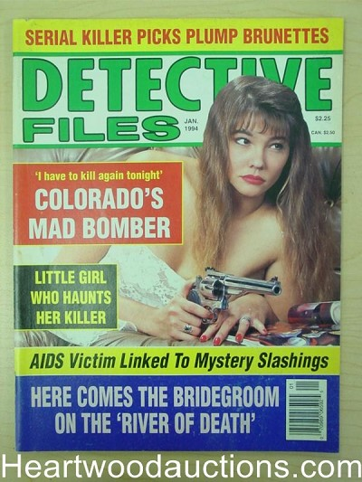 """Detective Files"" January 1994 Bad Girls Cover"