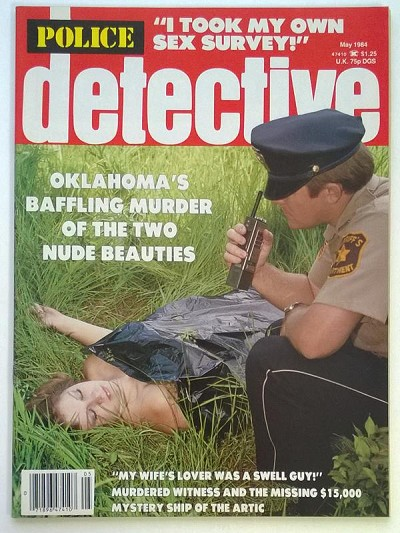 """Police Detective"" May 1984 Girls Behind Bars  - Ultra High Grade"