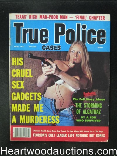 True Police Apr 1977 Wild Cover, The Storming of Alcatraz