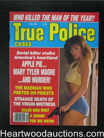True Police Apr 1989 Bad Girl Cover- High Grade