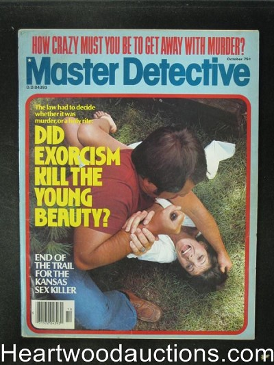 Master Detective Oct 1978 Assualt Cover