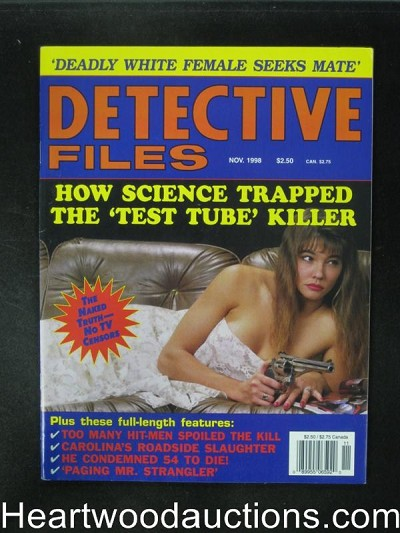 Detective Files Nov 1998 Bad Girl Cover- Ultra High Grade