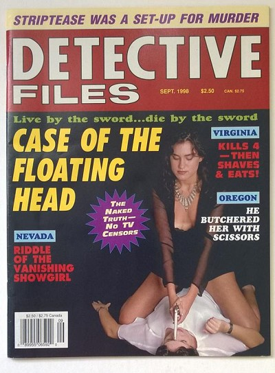 Detective Files Sep 1998 Bad Girl Cover - Ultra High Grade