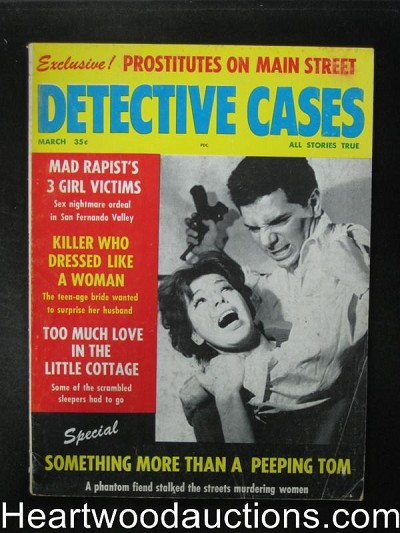 Detective Cases Mar 1962 Assault Cover