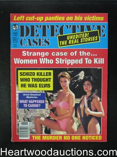 Detective Cases Jun 1992 Bad Girl Cover