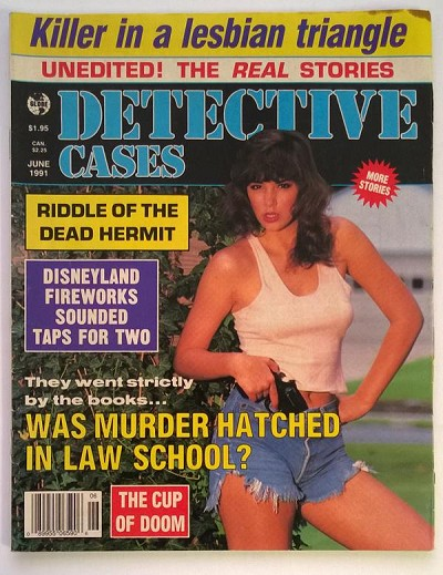 Detective Cases Jun 1991 Bad Girl Cover