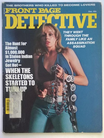 Front Page Detective Dec 1976 Bad Girl Cover