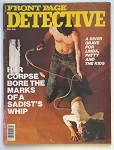 Front Page Detective Mar 1976 Whip Cover