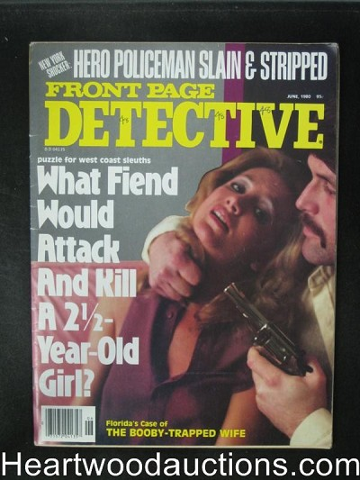 Front Page Detective Jun 1980 Assault Cover