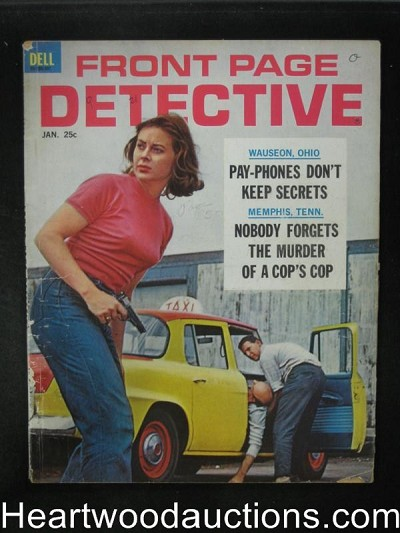 Front Page Detective Jan 1963 Demon of the Everglades