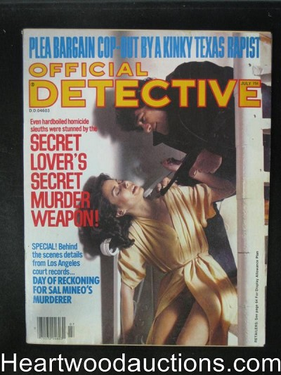 Official Detective Jul 1979 Assault Cover