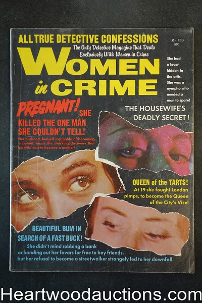 Women in Crime Feb 1968 The Twisted Nudes!