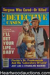 Detective Cases Jun 1982 Bad Girl Cover