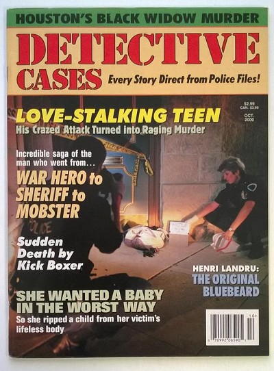 Detective Cases Oct 2000 - Ultra High Grade
