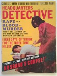 Headquarters Detective Aug 1967 Bad Girl Cover
