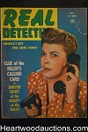 Real Detective Fall 1945 Bad Girl Cover