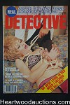 Real Detective Aug 1980 Bondage Cover - High Grade
