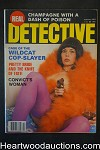 Real Detective Feb 1981 Bad Girl Cover