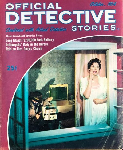 "Official Detective Stories"" October 1954"