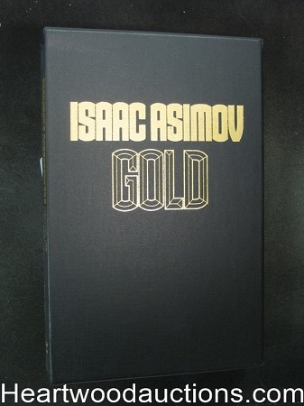 Gold by Isaac Asimov (Slipcase)