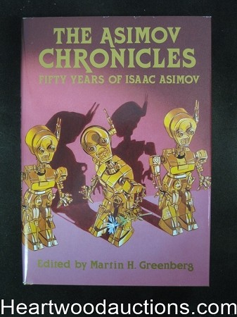 The Asimov Chronicles by Isaac Asimov (Signed)