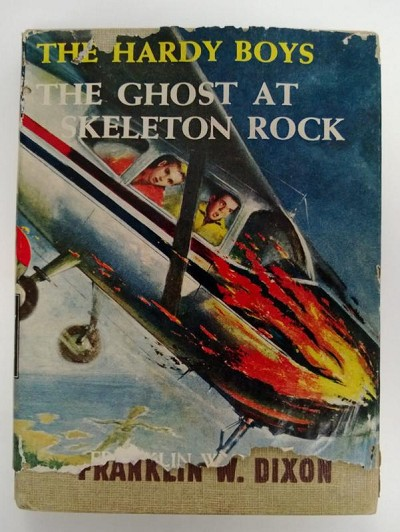 The Hardy Boys: The Ghost at Skeleton Rock by Franklin W. Dixon